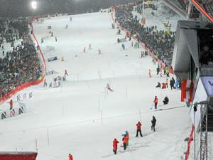 Slalomstrecke