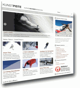 Online Skimagazin kunstpiste.com