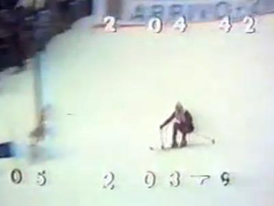 Karl Schranz Hocke Gröden 1970